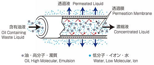 分離膜の原理